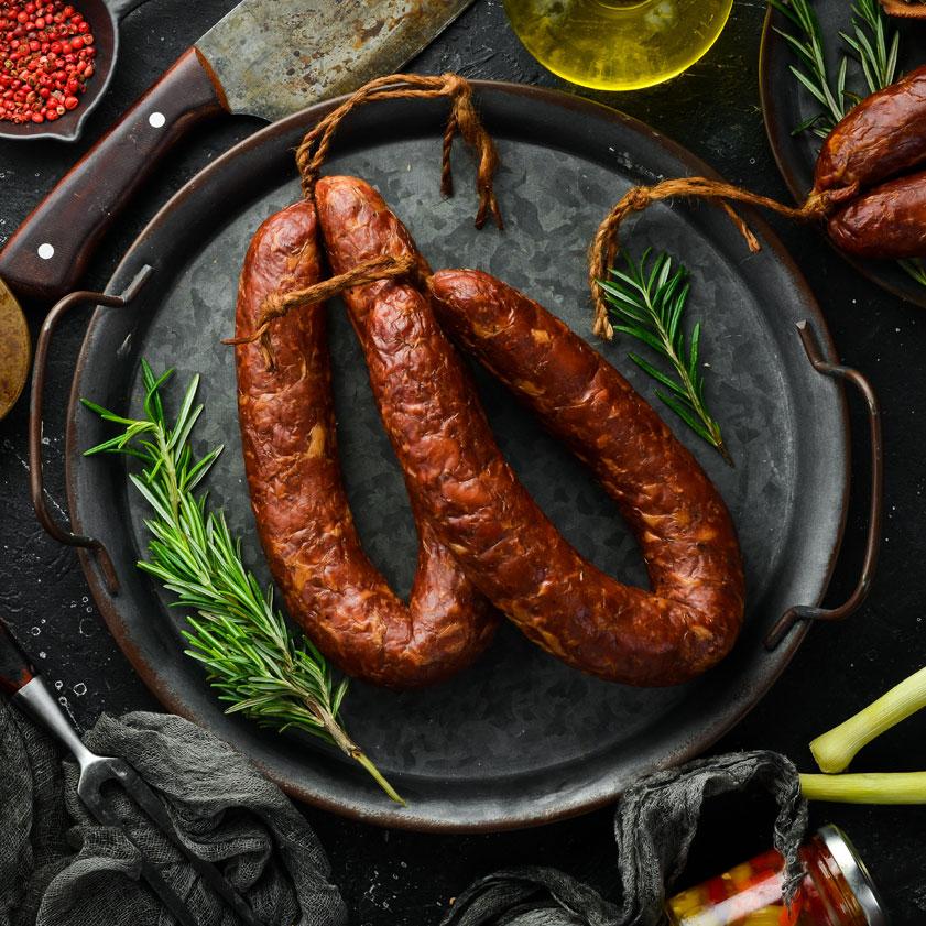 garlic-sausage-kattle-kountry-beef-saskatchewan-delivery